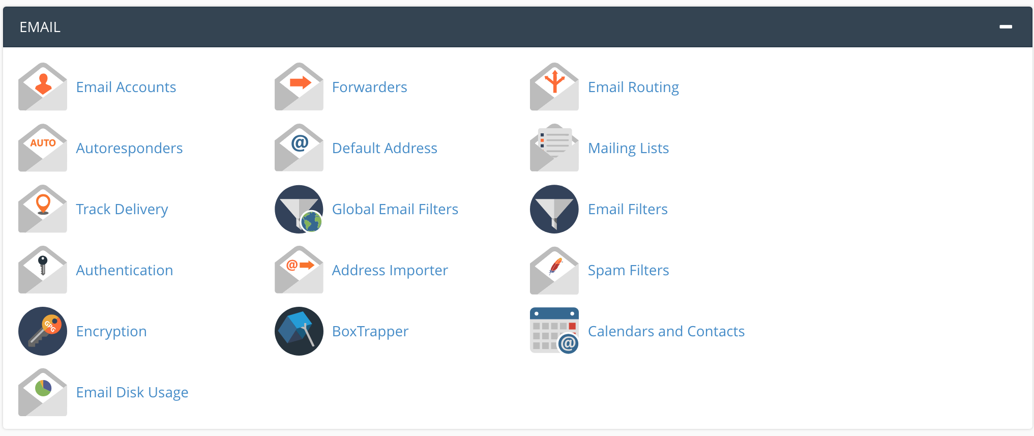 cpanel mail feature